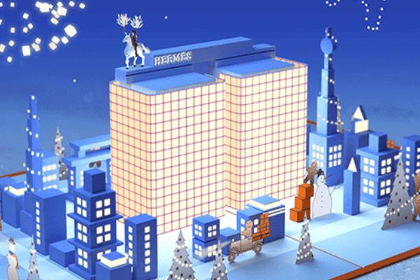エルメス クリスマス カード